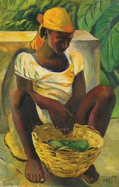 Lois Mailou Jones - Peasant Girl, Haiti 1954