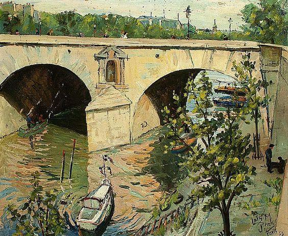 Lois Mailou Jones - Pont St. Marie, Paris