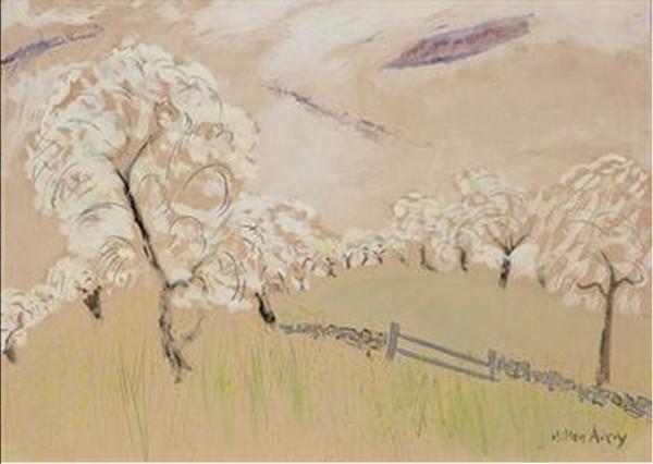 Milton Avery -  Spring