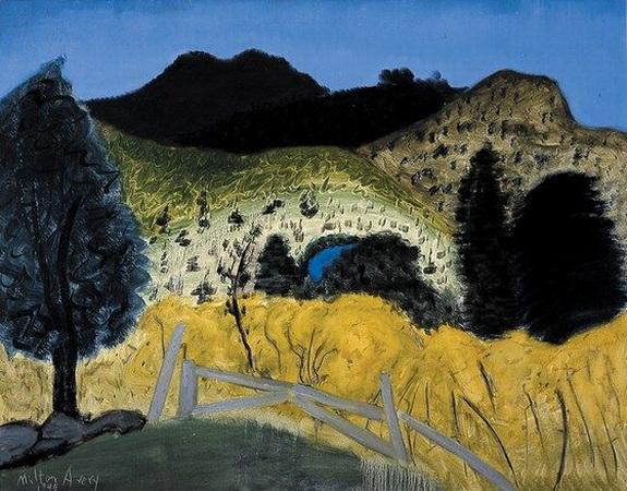 Milton Avery -  Landscape