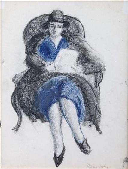 Milton Avery - Seated Woman
