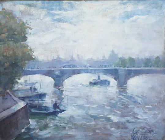 Mogens Christian Vantore - River Seine