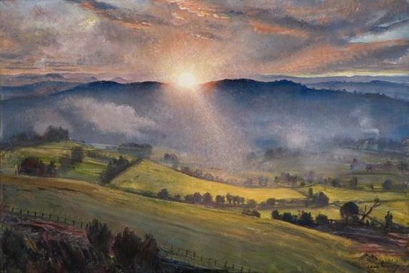 Laura Knight - Sundown