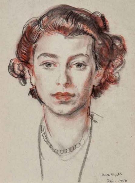 Laura Knight - Elisabeth II