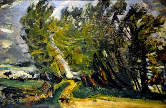 Chaim Soutine - Windy Day, Auxerre