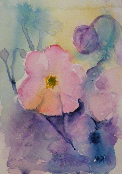 Vandy Massey - Dream Japanese Anemones