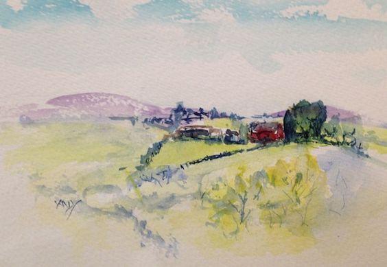 Vandy Massey - Little Red Farmhouse