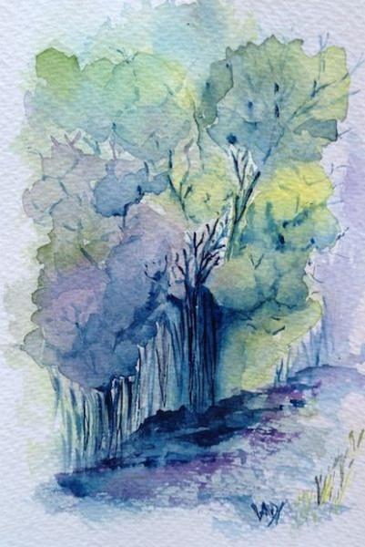 Vandy Massey - Woodland Path