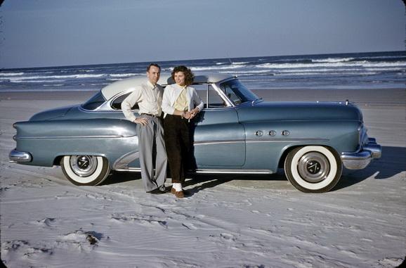 Пляж Дайтона-бич, Флорида.