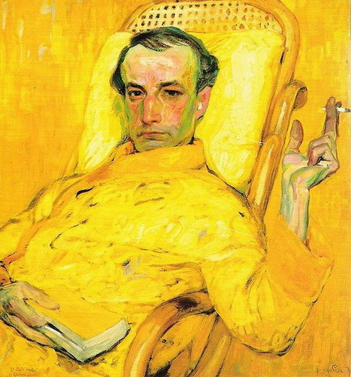 Frantisek Kupka - The Yellow Scale