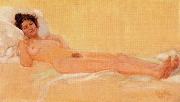 Frantisek Kupka - Nude