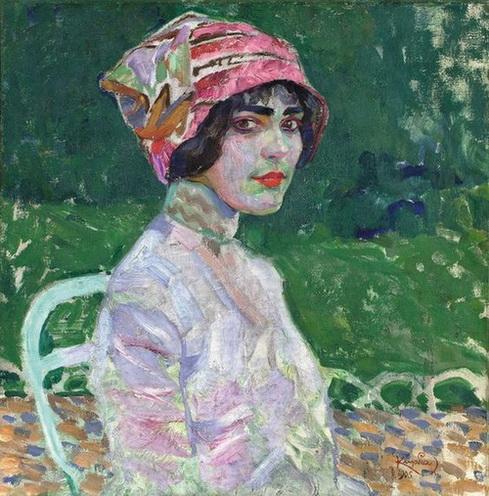 Frantisek Kupka - The Pink Hat