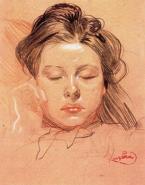 Frantisek Kupka - Sleeping Face