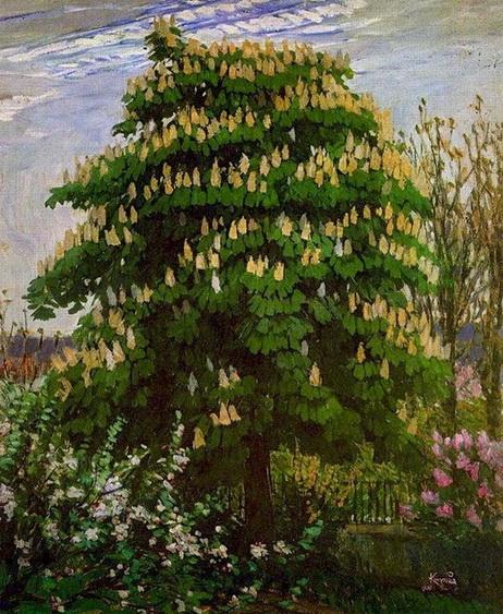 Frantisek Kupka - The Chestnut Tree in Blossom