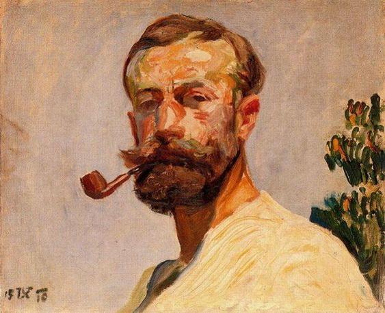 Frantisek Kupka - Self-portrait