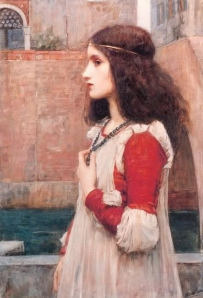 Edwin Austin Abbey - Juliet