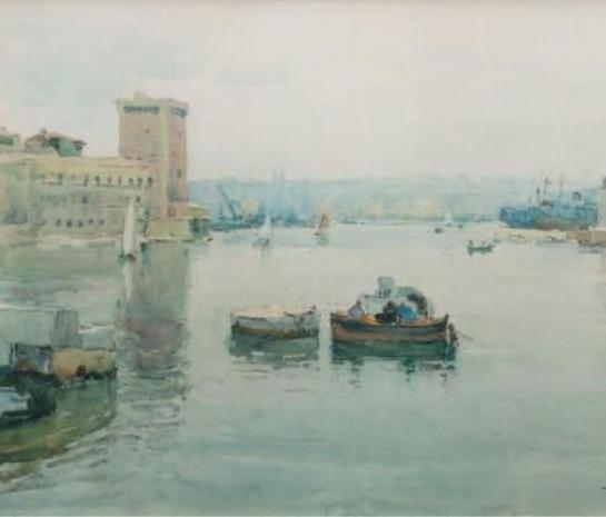 Agricol Louis Montagne -  Venice