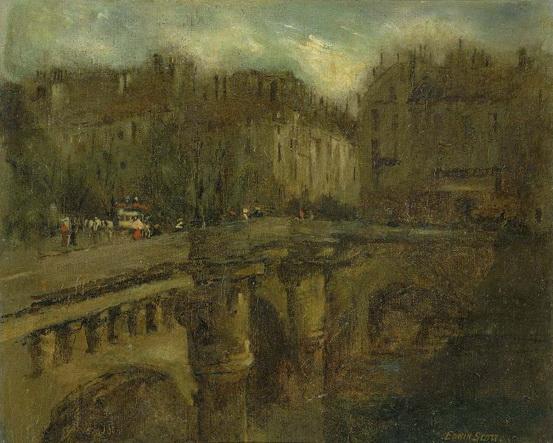 Frank Edwin Scott - L' Heure Bleu a Paris