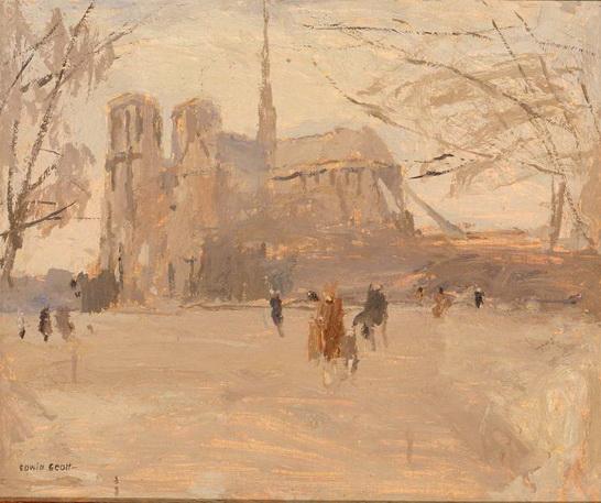 Frank Edwin Scott - Notre Dame no. II