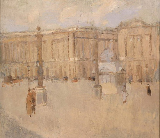 Frank Edwin Scott - Place de la Concorde no. I