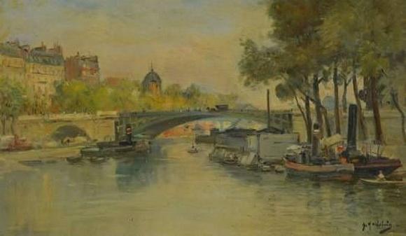 Gustave Madelain - Vue de Paris