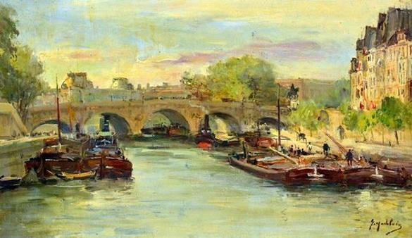 Gustave Madelain - Pont Neuf