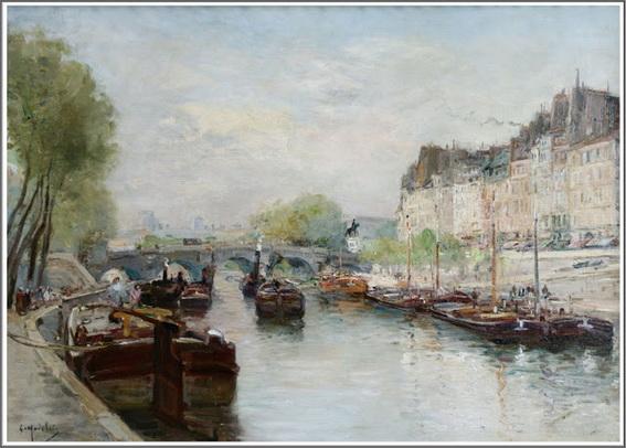 Gustave Madelain - Ile de la Cite, Paris
