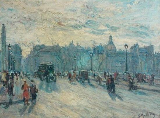 Gustave Madelain - Le Pont Neuf