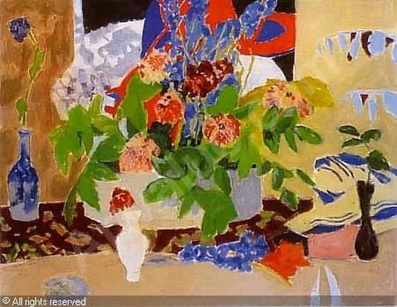 Jules Cavailles - La jardiniere fleurie