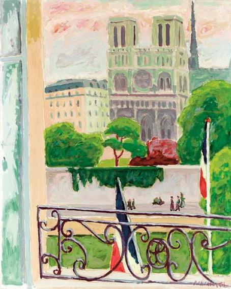 Jules Cavailles - Notre-Dame, Paris