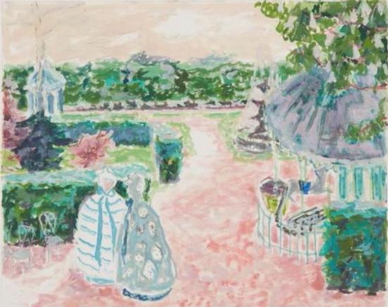 Jules Cavailles - Elegantes au parc