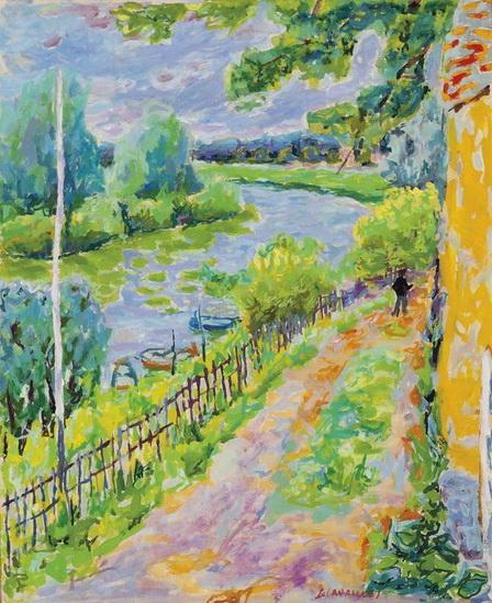 Jules Cavailles - Au bord de la Marne
