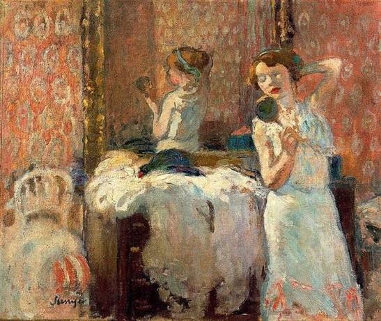 Joaquim Sunyer  - The Mirrors