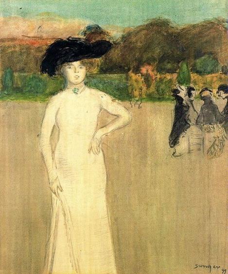 Joaquim Sunyer  - Portrait of a Woman