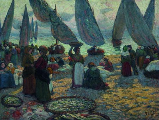 Ramon Pichot I girones - Regreso de las barcas