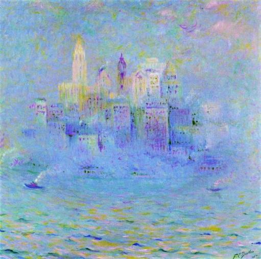 Theodore Earl Butler - New York Harbor