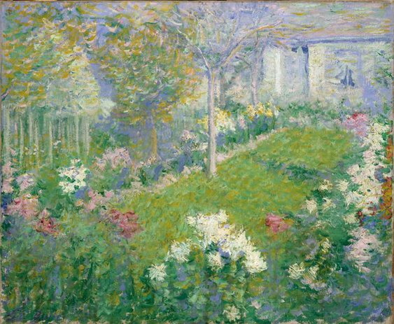 Theodore Earl Butler - Un Jardin
