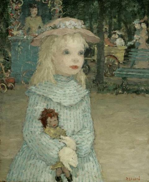 Dietz Edzard - child with doll