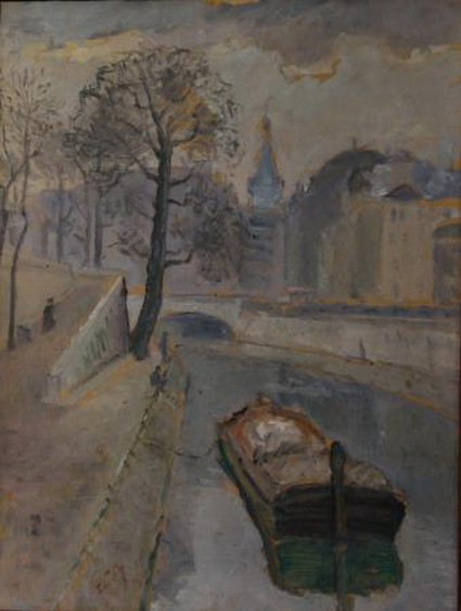 Theodor Pallady - View of the Seine