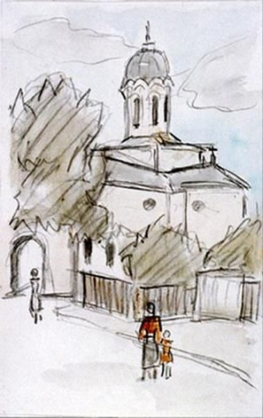 Theodor Pallady - Biserica Silvestru