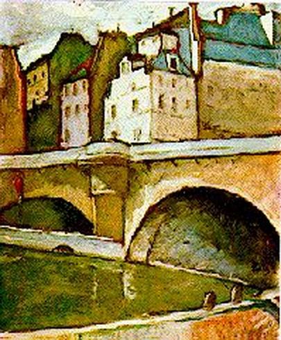 Theodor Pallady - Pont Neuf - Paris