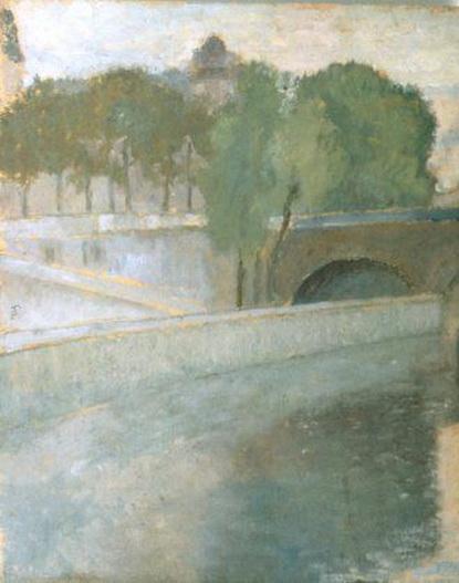 Theodor Pallady - Pod peste Sena