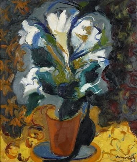 Emmanuel Mane-Katz - Floral