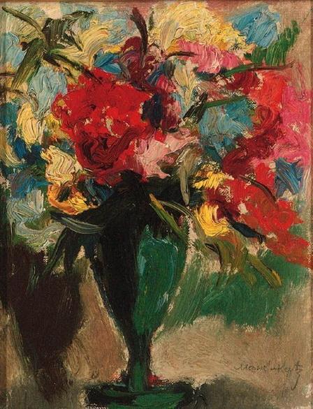 Emmanuel Mane-Katz - Bouquet de fleurs