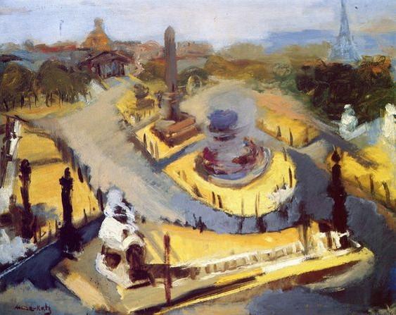 Emmanuel Mane-Katz - Place de la Concorde
