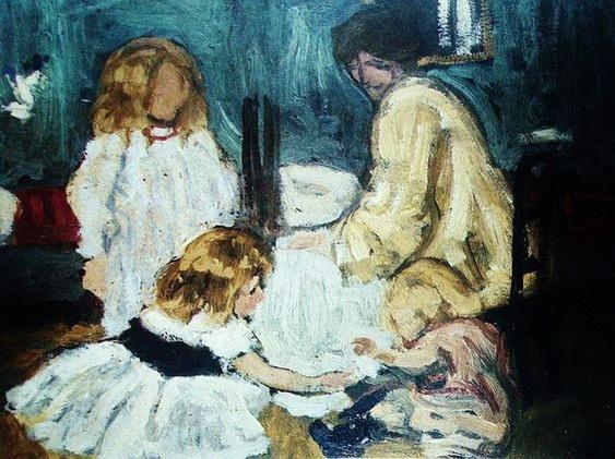 Henri Evenepoel - Playing Children