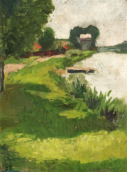 Henri Evenepoel - Landscape