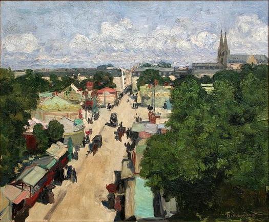 Henri Evenepoel -  The Fair at Les Invalides