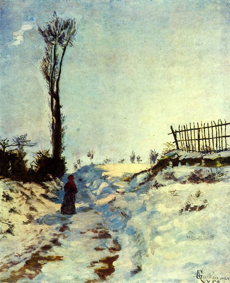 Armand Guillaumin - Hollow in the Snow