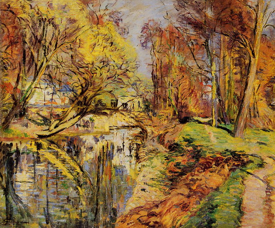 Armand Guillaumin - The Banks of the Orge at Epiney